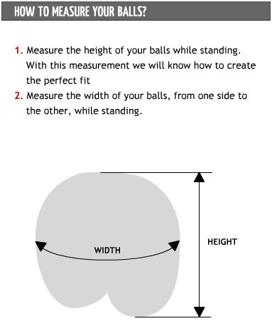 How To Measure Your Balls